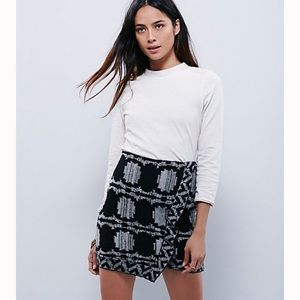 Free People Wrapped In You Blanket Skirt - Medium